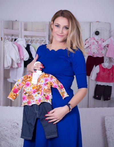 Som-Balogh Edina a Trimexbaby baba ruháival